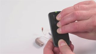 How to pair Remote Control and Oticon Opn S™ miniRITE R