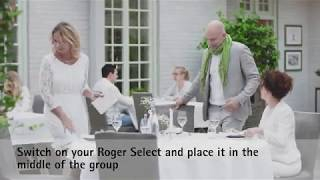 Roger Select - How to use in a group conversation